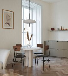 Sophisticated scandinavian apartment in Budapest Contemporary sophisticated scandinavian interior design. Sophisticated scandinavian apartment in Budapest designed by Andi Juhász Scandinavian Apartment, Scandinavian Interior Design, Apartment Interior Design, Scandinavian Home, Interior Decorating, Minimalist Scandinavian, Scandinavian Kitchen Interiors, Minimal Apartment, Nordic Kitchen