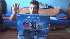 nice Podwójny unboxing PlayStation 4 500GB + 3 GRY + paczka GTA V!