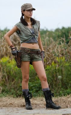 Rosita (Season 4) from The Walking Dead Then & Now: See How Much The Zombie Apocalypse Changed the Cast