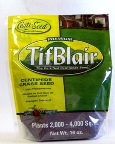 Tifblair Centipede Gr Seed 1 Lb Bag Certified Patten 41 99