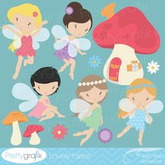 BUY 20 GET 10 OFF fairy clipart commercial use, vector graphics, digital clip art, digital images - Fairy Clipart, Cute Clipart, Tinkerbell, Stencils, Pretty Drawings, Image Paper, Fairy Birthday, Birthday Ideas, Handmade Crafts