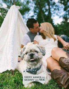 La plus décontractée - 11 belles façons d'annoncer son mariage à ses proches - Elle