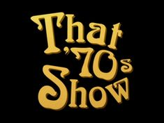 TELEVISION: saw a live filming of 'that 70's show'...