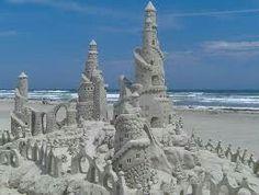 Port Aransas Texas sand castle festval