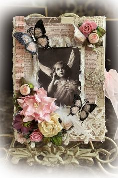 1000+ images about Scrapbook on Pinterest   Empty candle jars, Prima ...