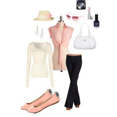 Relaxed pink, created by jnfeberle.polyvore.com