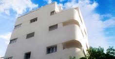 bauhaus building in Tel Aviv, Diezengoff