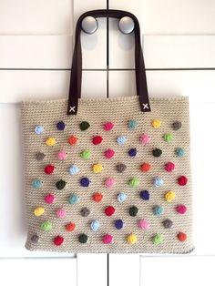 bolso ganchillo crochet