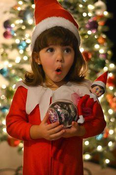 Christmas baby #2 gender reveal  Elf on the shelf