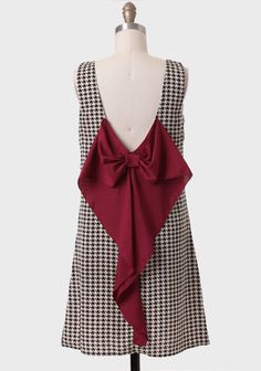 Windsor Avenue Houndstooth Dress at #Ruche @Ruche