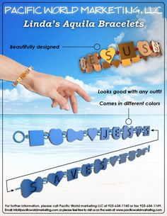 Linda's Aquila Bracelets - PacificWorldMarketing.com - Products Available for Licensing
