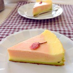 甘酸っぱい… - 46件のもぐもぐ - 春の3色チーズケーキ by cuisineKQ1
