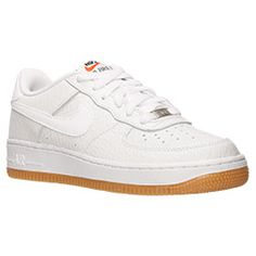 <p>If your kid is looking for iconic style for everywhere from the court to the street, the Nike Air Force 1 Low Basketball Shoes are the perfect kicks for him. Since 1982, these retro shoes have grown more and more popular and become a favorite among b-ball enthusiasts and fashion seekers like.</p><p> Featuring a supple leather upper, these comfortable kicks will keep feet cozy all day long. The clean, timeless design has a soft midsole along with a full-length Air Sole unit for extra…