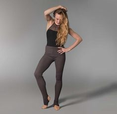 Pre-order Sara Mearns So Danca Adult Stirrups Pants E-11199  Available in 4 Colors