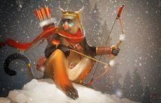 Monkey king, Alexandra GaudiBuendia Khitrova on ArtStation at https://www.artstation.com/artwork/ePROG
