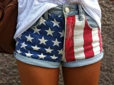'Merica shorts @Abby Christine Christine Underwood Emily Tillman we are so making these!