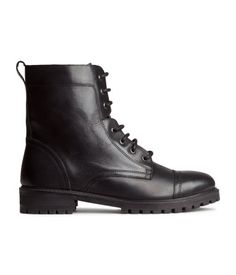 Product Detail | H&M US  Genuine Leather.