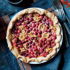 Fantastic Fall Pies   Maple-Walnut Cranberry Pie    MyRecipes.com