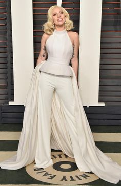 Recording artist Lady Gaga attends the 2016 Vanity Fair Oscar Party. (Photo by Pascal Le Segretain/Getty Images)