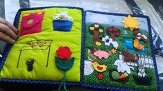 Book for SPECIAL NEED kid  (autism) Hand crafted baby quiet book -for Max - Made by Darina Scepkova......... Rucne robena detska knizka pre Maxika