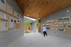Scenic Architecture · Community Pavilion at Jintao Village
