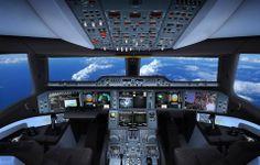 A350 Flight Deck