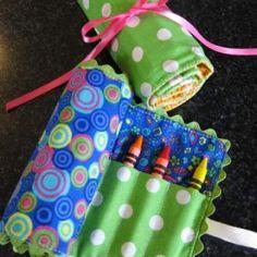 Pillow Prints - Crayon Roll