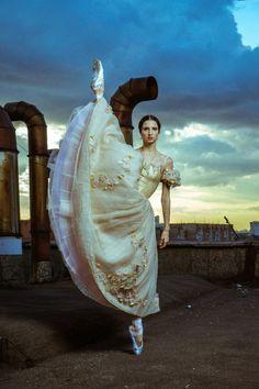 Ballerina from Bolshoi theatre via The Ballet Blog