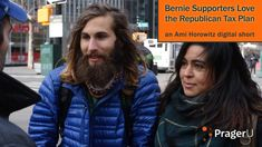 What would happen if Democrats were told that the Republican Tax Bill they hate was actually from Bernie Sanders? Would they support it then? Documentary filmmaker Ami Horowitz took to the streets of New York's East Village to find out. Click here to donate and help promote this video