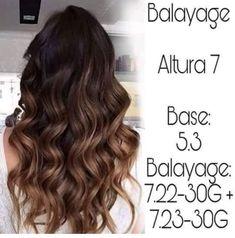 Chocolate Brown Hair Color, Brown Hair Colors, Balayage Highlights, Balayage Hair, Haircolor, Chestnut Hair, Hair Color Formulas, Cabello Hair, Hair Color Techniques