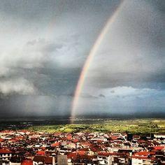 #Naoussa #rainbow Niagara Falls, Greece, Landscapes, Rainbow, Nature, Instagram Posts, Travel, Paisajes, Voyage