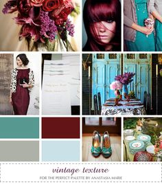 Looking for your wedding color palette? The Perfect Palette wants to help! The Perfect Palette is dedicated to helping you see the many ways you can use color to bring your wedding to life. Colour Schemes, Wedding Color Schemes, Color Combos, Wedding Colors, Color Palettes, Burgundy Wedding, Fall Wedding, Our Wedding, Dream Wedding