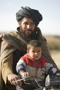 Afghanistan: father  son