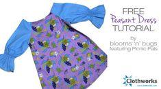 Peasant Dress pdf pattern and tutorial
