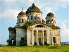 abandoned churches | Penza region abandoned church