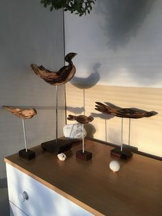 Birds  #art #wood #birds