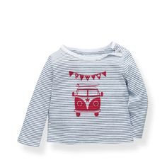 Baby Campervan T-Shirt | The White Company