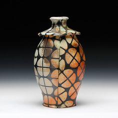 Schaller Gallery : Artist : David W. Bolton : Square Jar