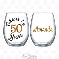 Cheers To 50 Years 50th Birthday Party Favors80th