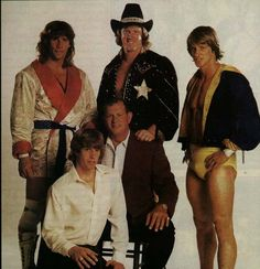 The Von Erichs.  The best wrestler of them all was David Von Erich with the Cowboy hat.  The best cheap entertainment money could buy and what a show these boys put on.