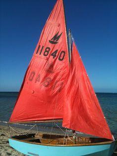 sailing dinghy...