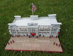 Queen's Diamond Jubilee Buckingham Palace Cake - Cake by Fifi's Cakes