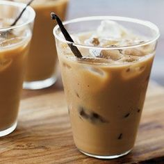 Vanilla Bean Iced Coffee.