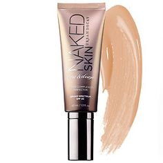 Urban Decay - Naked Skin One & Done Hybrid Complexion Perfector - An oil-free, hybrid complexion cream that instantly and completely blurs imperfections, evens out skintone for a result that looks natural.  #sephora