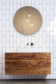 28 Ideas For Natural Wood Bathroom Vanity Modern Wooden Bathroom Vanity, Bathroom Furniture, Bathroom Vanities, Bathroom Basin, Timber Vanity, Rustic Bathrooms, Cottage Bathrooms, Modern Bathroom, Bathroom Inspiration