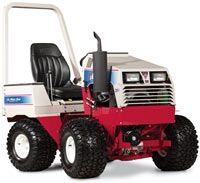 The Ventrac compact tractor...mow, scoop, till, push...do it all!!   www.ventrac.com