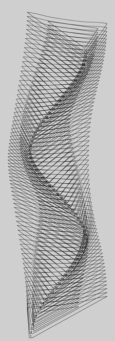 Fleeting Bench,  Cass Sculpture Foundation by Studio Weave