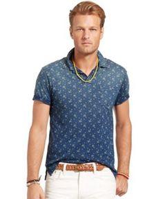 9e59798dc89 Polo Ralph Lauren Big and Tall Short Sleeve Anchor Mesh Polo & Reviews -  Casual Button-Down Shirts - Men - Macy's