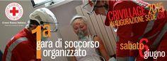 Sabato 6 giugno ci sarà la prima gara di simulazione #CRIvillage15 #Cuneo #CRI