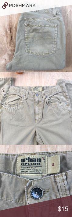 51e93ee77d9dc Urban Pipeline Straight Leg Khakis Perfect lightweight khakis for a school  uniform. EUC. Elastic